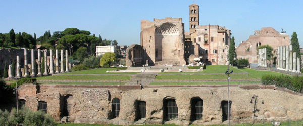Fig. 16. Apollodorus, Temple of Venus and Roma, 121-135 Velian Hill, Roman Fori, Rome Photo credit: author