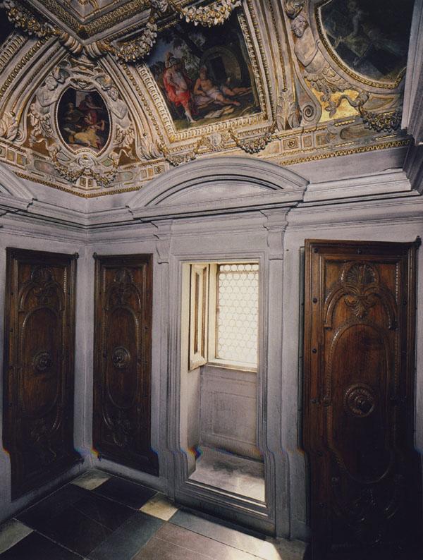 Fig. 27. Giorgio Vasari and assistants, Francesco I de' Medici, Il Tesoretto, 1570 Palazzo Vecchio, Florence Photo credit: author