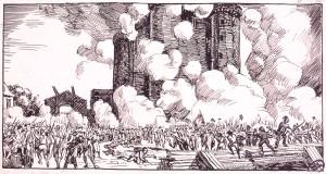 Prise de la Bastille, de Prosper Rotgé, 1925.