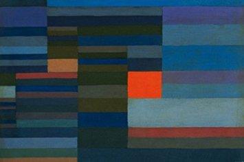 Paul Klee, Fuoco nella sera (1929)