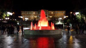 Fig. 1 - Piazza Syntagma (foto dell'autore)