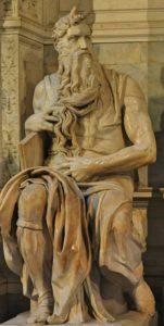 Fig. 4. Michelangelo, Moses, 1513, marble. San Pietro di Vincoli, Rome