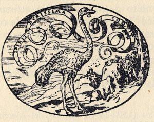 Fig. 8. Paolo Giovio, Spiritus durissima coquit, impresa for Girolamo Mattei Romano, [Guglielmo Roviglio, Lyon], 1559 Dialogo delle'imprese military et amorose di Monsignor Giovio, p. 82