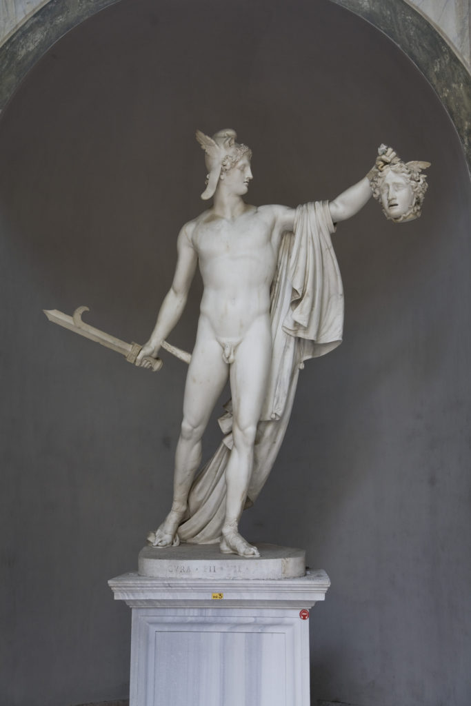 Figure 2: Antonio Canova, Perseus with the Head of Medusa