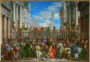 Fig. 1. Paolo Veronese, Wedding at Cana, [Paris], 1562-63
