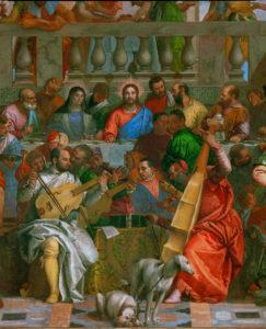 Fig. 2. Paolo Veronese, Wedding at Cana, Det., Center, [Paris], 1562-63