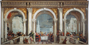 Fig. 3. Paolo Veronese, Feast in the House of Levi, [Venice], 1573