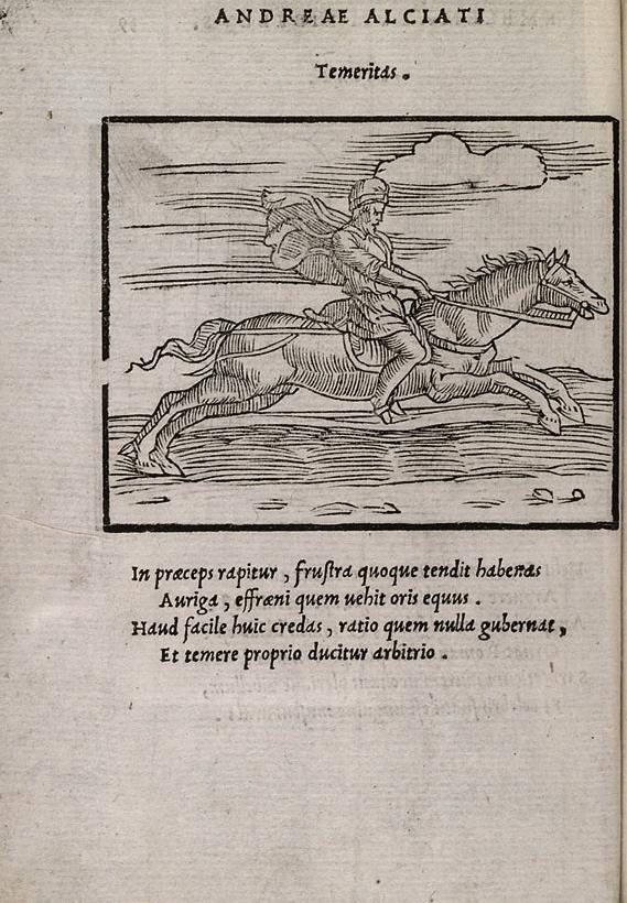 Andrea Alciato, Emblematum libellus, Venice, Aldus, 1546, E7v – f39v